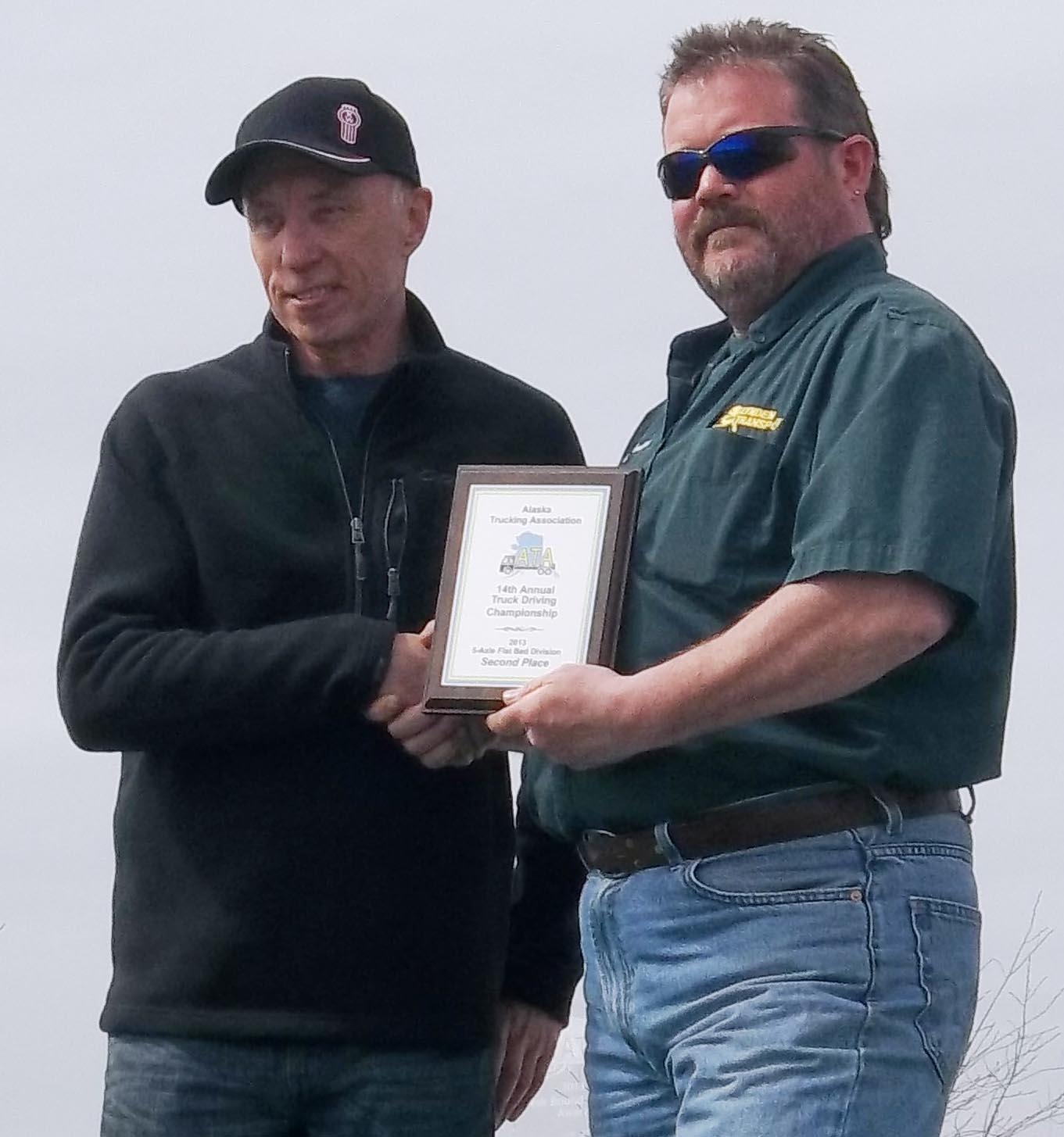 Tom Martin   2013 Truck Driving Championships