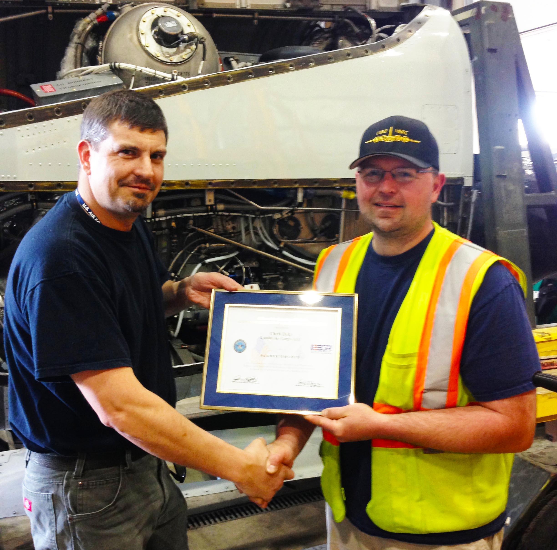 Patriotic Employer award   LAC copy