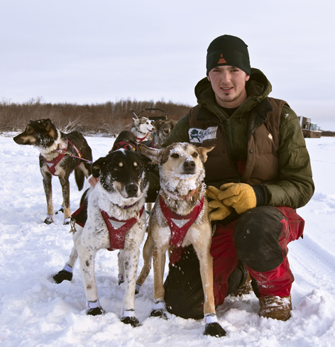Pete and his dogs