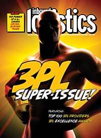 Inbound Logistics - July cover