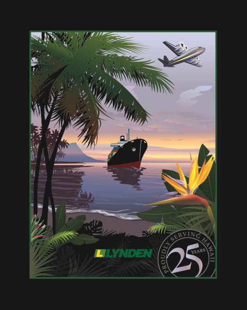 Lynden in Hawaii