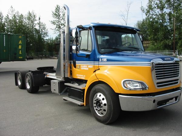 Alaska West Express truck