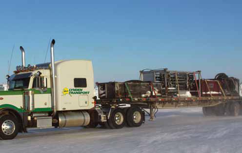 CH2M Hill - Drill rig move