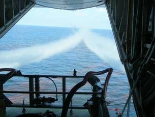 Dispersant flights - back view