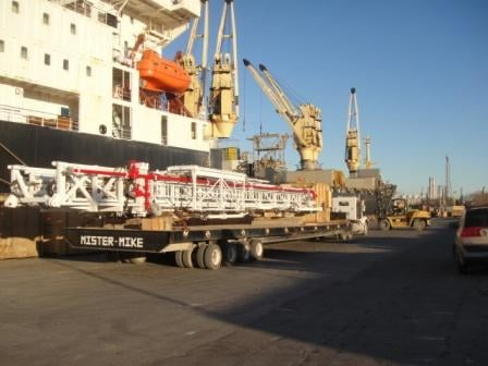 Ship and Truck