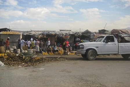 Haiti relief flights - on the ground