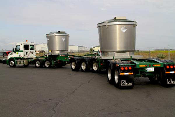 Transporting Ore Pots
