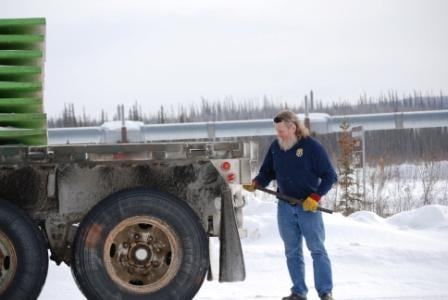 John on the Dalton Highway