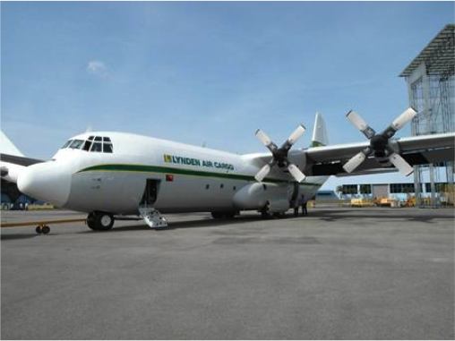 New Hercules aircraft