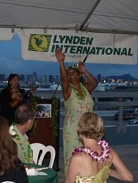 Hula at 25th Anniversary celebration