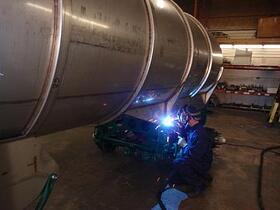 Lynden Tank welding