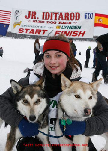 2010 Jr. Iditarod winner Merrisa Osmar