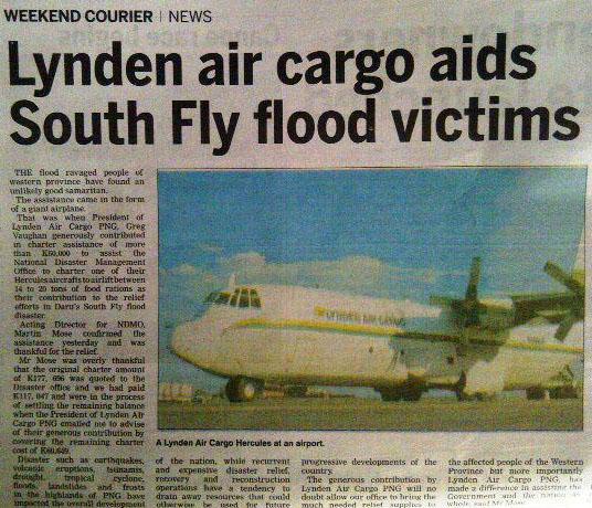 PNG newspaper