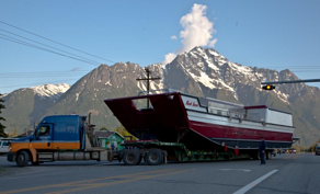 Alaska West Express heavy haul