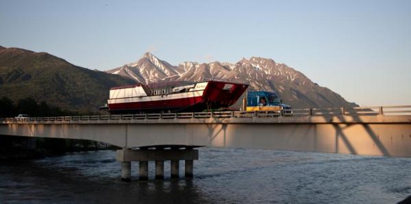 Alaska West Express heavy haul