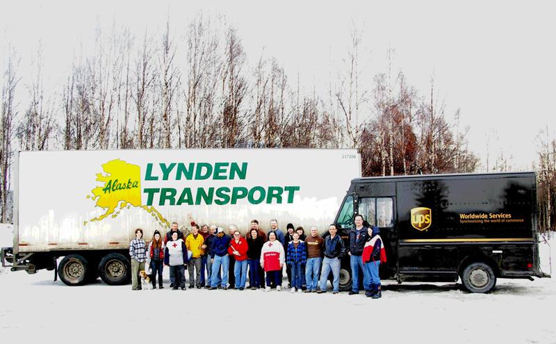 Lynden Transport - Red Cross