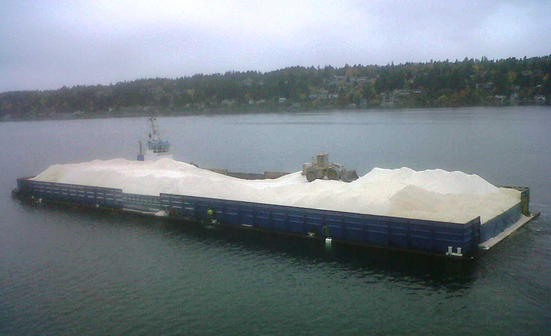 Salt Ship from Chile