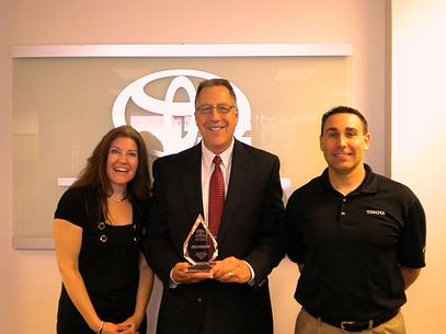 2012 Toyota Award
