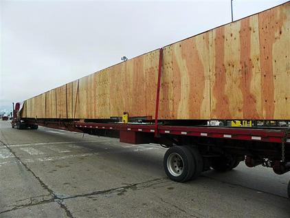 Oversized trucking