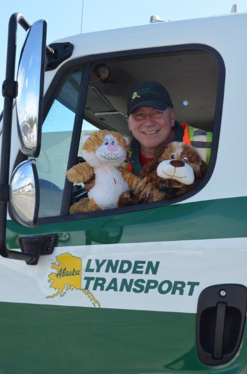 Lynden truck driver Ray Sorenson