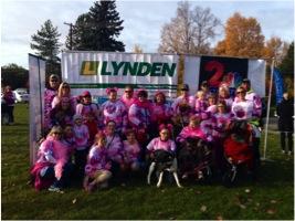 Lynden walks for American Cancer Society