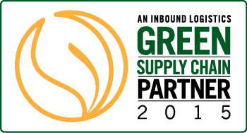 Inbound Logistics Green Supply Chain Partner 2015