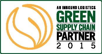 Inbound Logistics Green Supply Chain Partner 2015