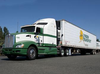 Lynden Transport Truck