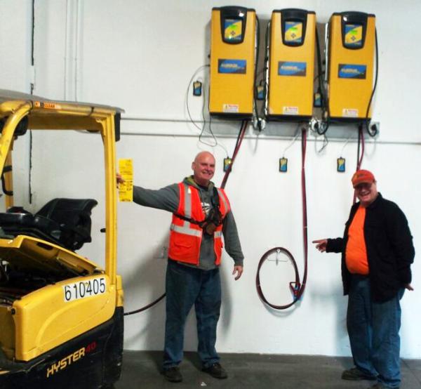Energy efficiency at Alaska Marine Lines