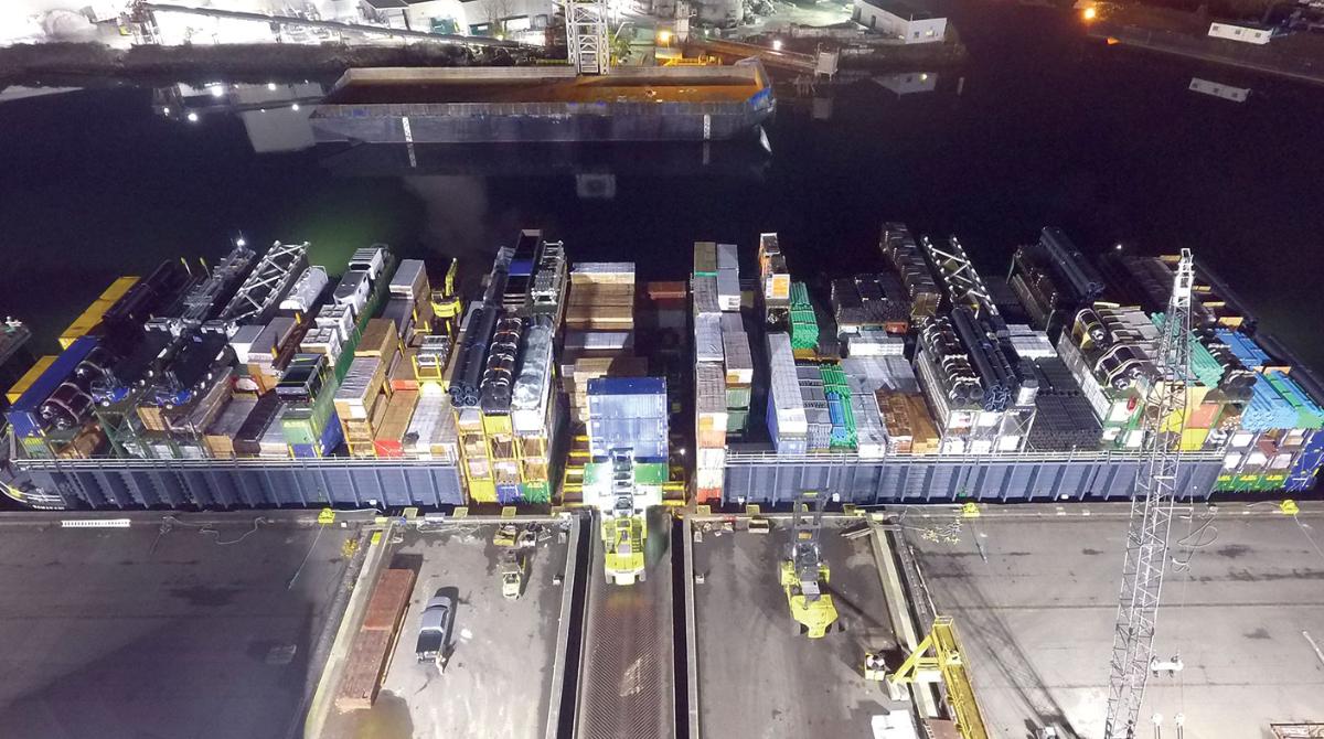 AML barge loading