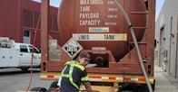 Anacortes water system unloading chlorine