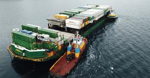 Alaska Marine Lines barge