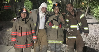 Guatemala firefighters