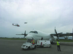 Haiti earthquake flights - LAC