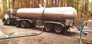 JNU fish delivery tanker