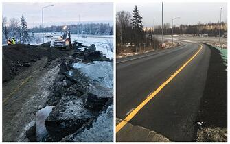 Knik Road Fix