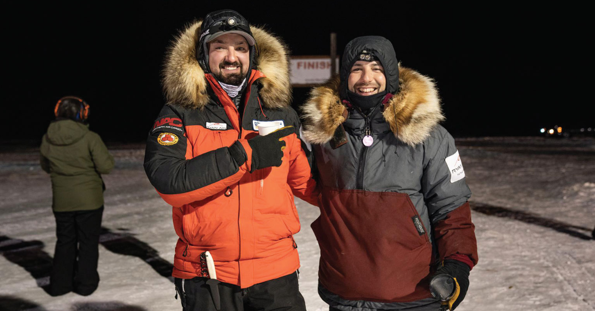 Knik employee blog, sled dog races