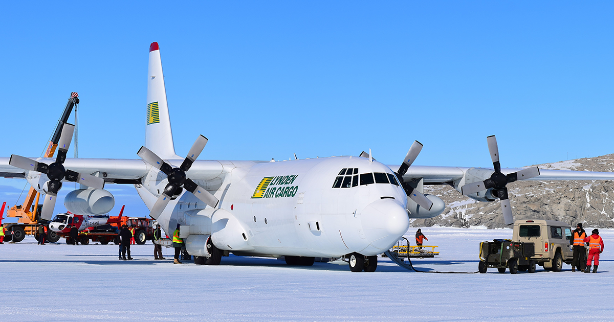 Lynden Air Cargo Antarctica