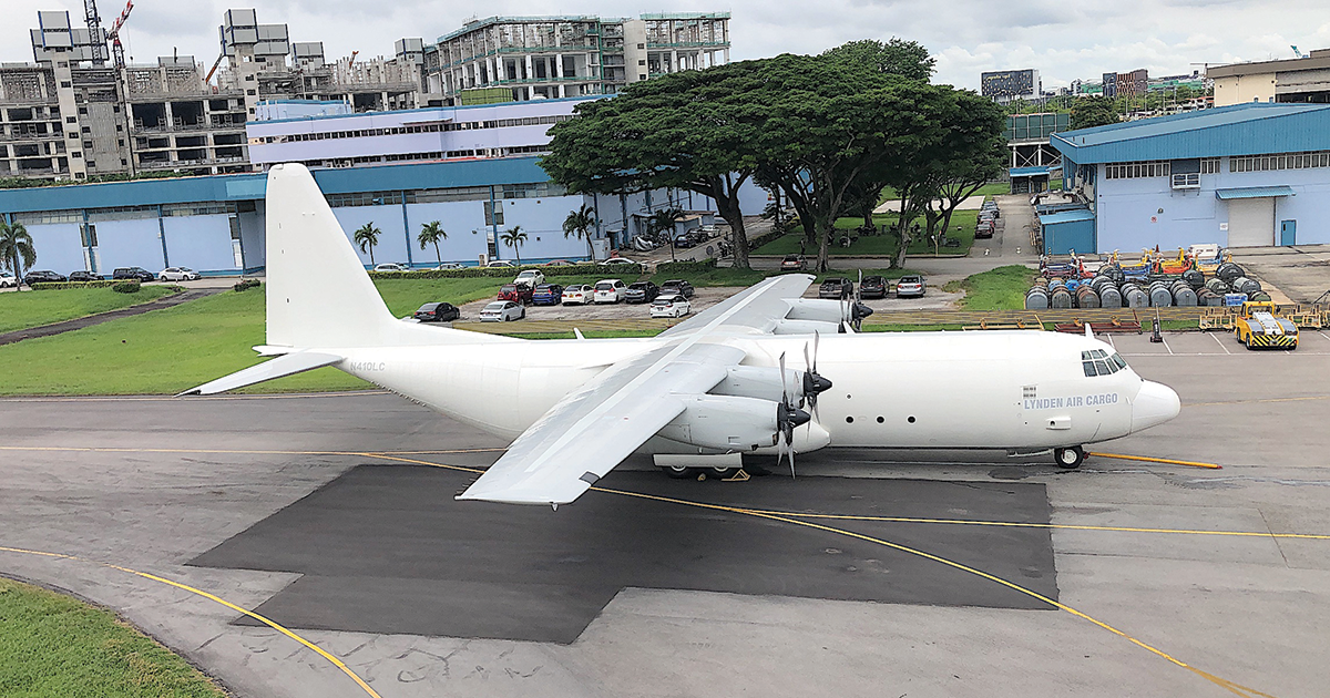 Lynden Air Cargo Hercules Aircraft