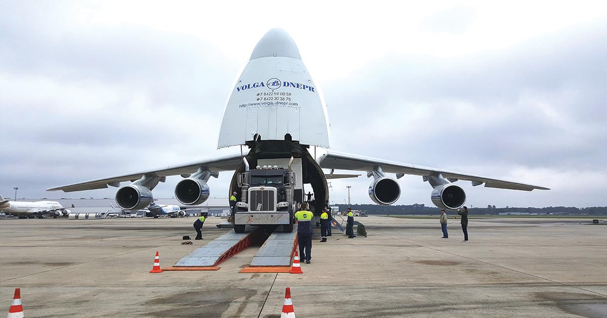 LINT Antonov 124 move of pump house to PBY