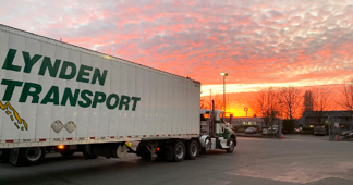 Lynden Transport truck
