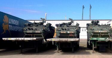 Military move for Lynden Transport