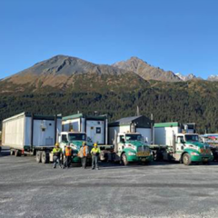 Transporting Modules to Big Lake, AK
