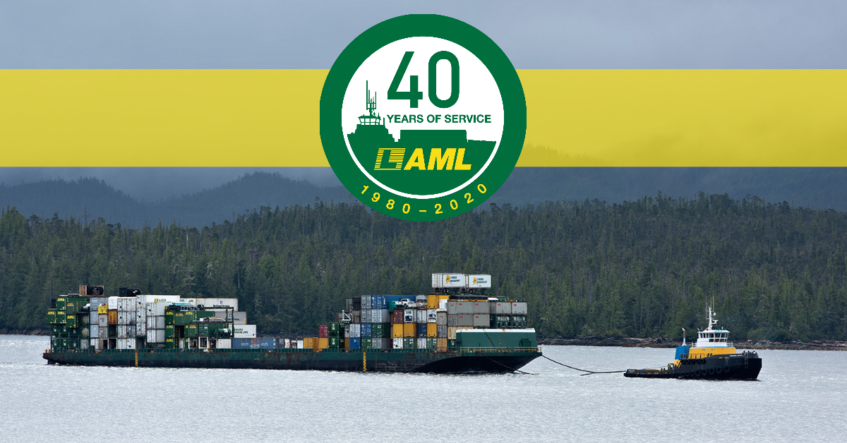 Alaska Marine Lines celebrates 40 years
