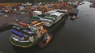 School Buses on barge in Seattle.jpg