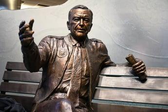 Ted Stevens bronze statue