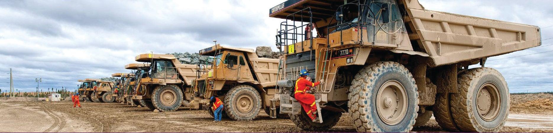 Victor Mine Trucks