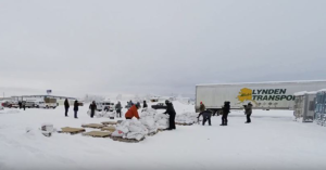 2018 Yukon Quest food drop