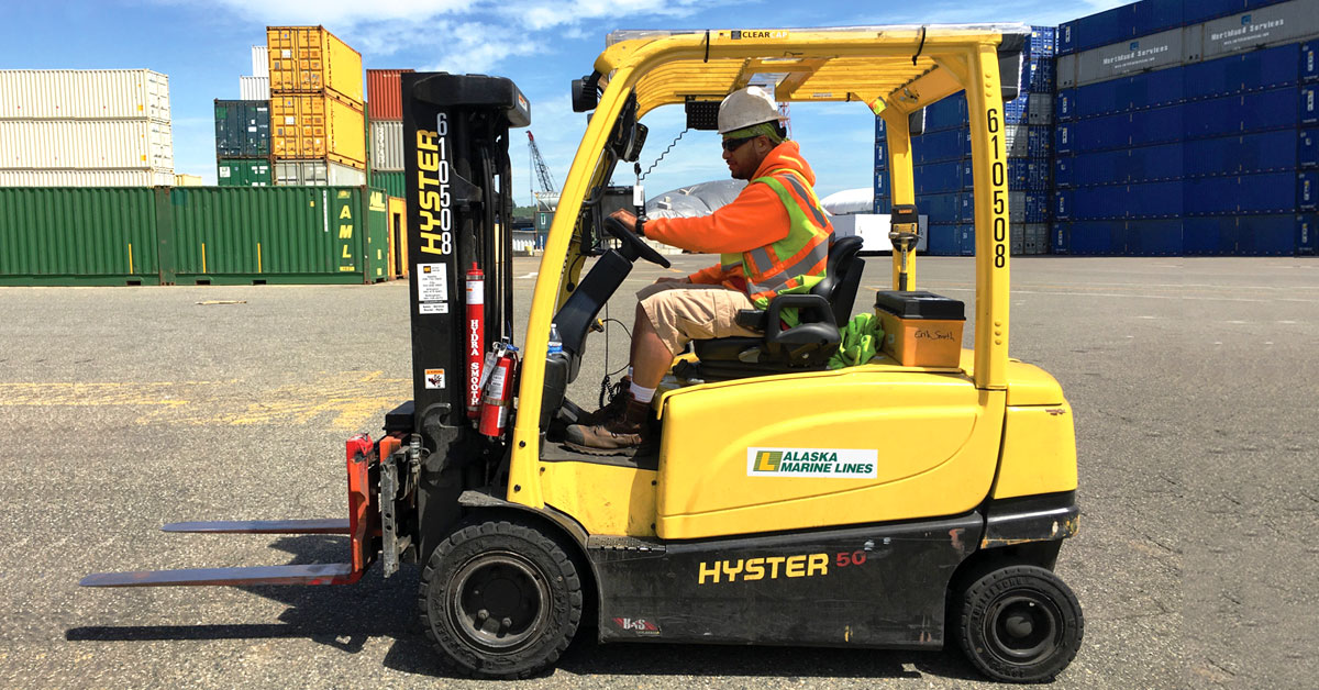 electronic-forklift-driver