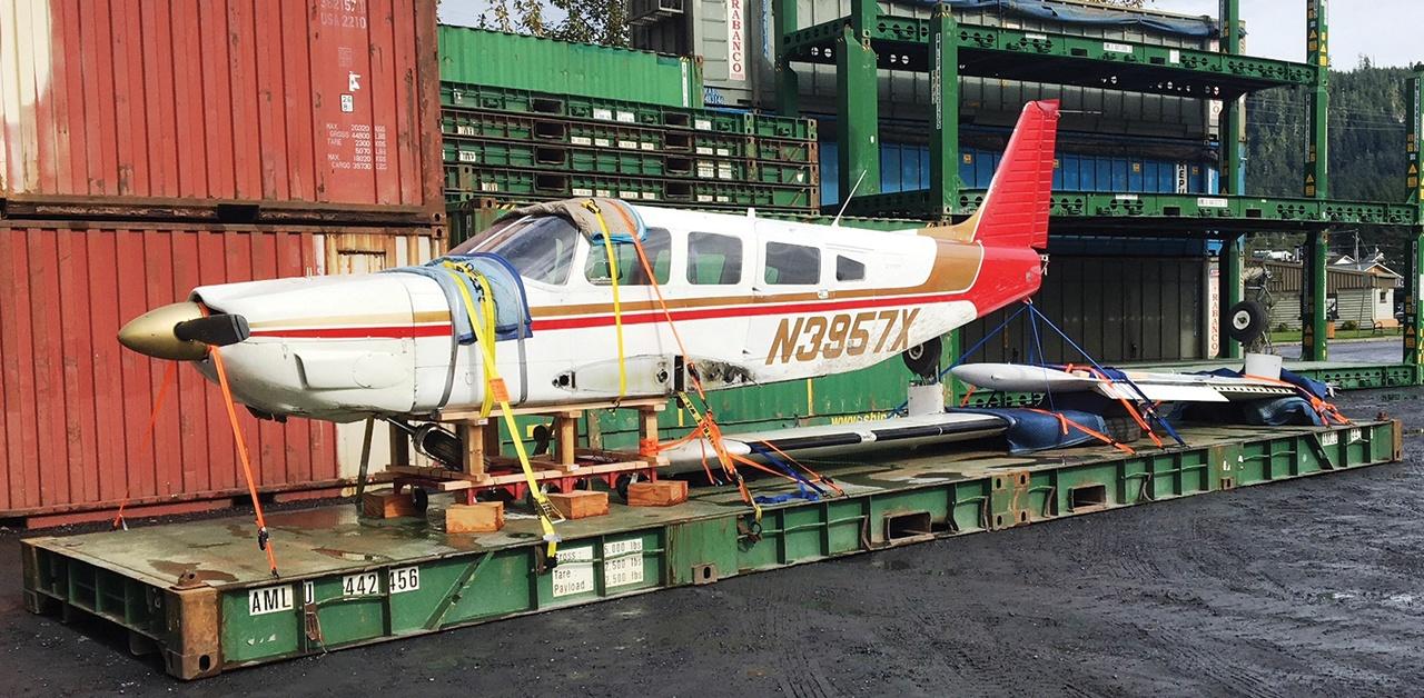 Airplane Shipment, Etolin Island